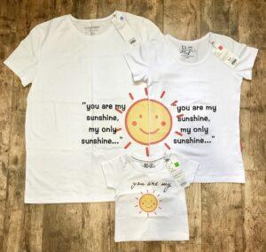 Семейные футболки с принтами